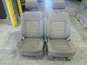 Left Right Pair Front Bucket Seats Cloth Fits 14 18 Sierra 1500 Pickup 4411021