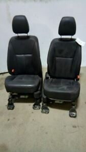 Left Right Pair Front Bucket Seats Leather Electric Heated Fits 13 Edge 5100663