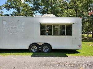 Used Food Concession Trailer With A Commercial Kitchen For Sale In Louisiana