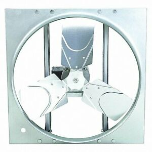 Dayton 10e032 Exhaust supply Fan Direct Drive Reversible 24 Blade Dia New