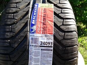 1 New 285 35 18 Michelin Pilot Sport A s Plus Tire