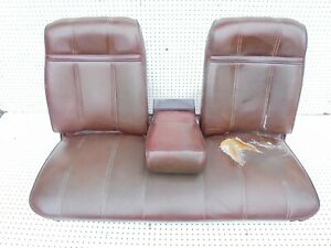 1978 Ranchero Gt Front Bench Seat With Arm Rest