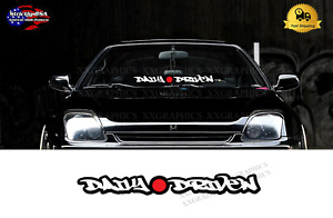 Daily Driven Windshield Banner Jdm Japanese Sticker Decal