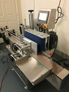 Automatic Bottle Labeling Machine With Code Dater