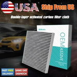 Activated Carbon Cabin Air Filter For Dodge Pontiac Toyota Tacoma 87139 yzz09