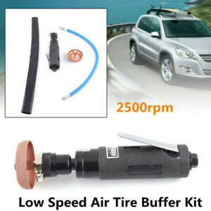 Air Tire Tyre Buffer 2500rpm Low Speed Pneumatic Grinder Auto Tire Buffing Wheel