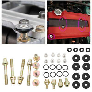 Engine Valve Cover Washer Bolt Low Profile For Honda Acura B Series B16 B18 B20