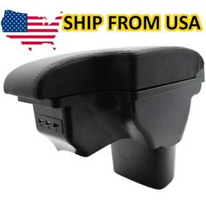Center Console Armrest Storage Usb Compartment Box For Nissan Juke 2011 2019