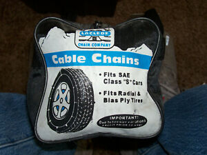 Laclede Cable Tire Chains 1042 Cars Truck Suv s 14 15 16 17 18 20 Rims Mtn Snow