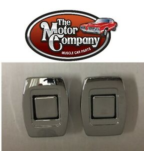 1969 1970 1971 1972 Chevelle Cutlass Gto Gs Bucket Seat Release Buttons Pair
