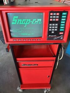 Snap On Counselor Ii Mt 3000 Engine Analyzer With 4 Gas Analyzer