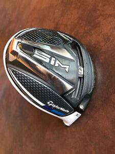 TaylorMade SIM Driver 9 Degree Head Only w Headcover $349.99