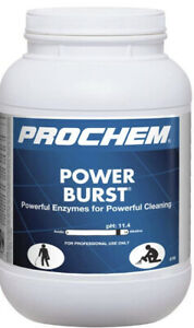 Prochem Power Burst Pro Highly Concentrated Carpet Cleaner Pre spray 6 5 Lbs