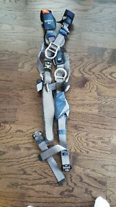New 3m Dbi sala 1113091 Full Body Harness Crossover Style S Repel Polyester