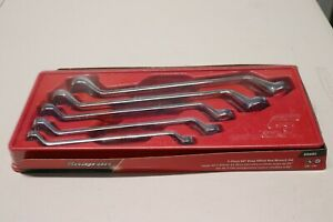 Snap On 5 Pc 12 Point Sae Flank Drive Standard 60 Deep Offset Box Wrench Xo605