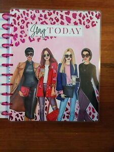 New 2020 2021 Happy Planner Big Vertical Rongrong Slay Today 18 Month Planner