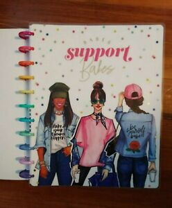New 2020 2021 Happy Planner Big Vertical Rongrong Babes Support 18 Mth Planner