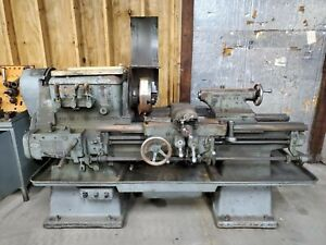 18 Lodge Shipley Lathe Model A With Tooling