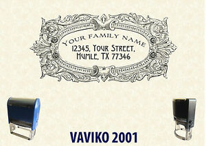 Self Ink Personalised Rubber Stamp Return Business Address Sa010 60 40