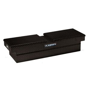 Lund 79154 72 Cross Bed Truck Tool Box Black Aluminum New