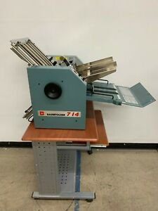 Baum 714f Friction Feed Paper Folder