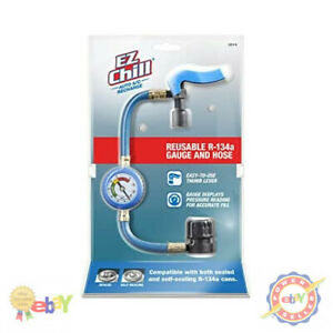 Ezchill Auto Air Conditioning Recharge Retrofit Kit High Mileage New