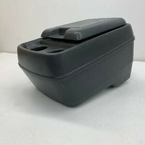 1980 1991 Oem Ford Truck F150 F250 F350 Front Center Console Grey 80 91 s6678