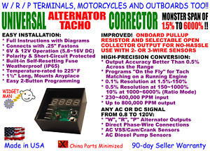 Alternator Tach Adapter Converter W R P Motorcycles Outboards 67 1 To 1 60