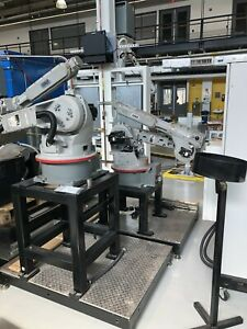 2 Adept Viper S1700 Robotic Arms Platforms Stands Electronics Power Source