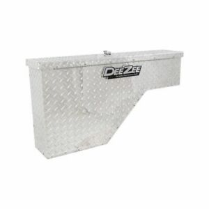 Deezee Dz 94 Tool Box Specialty Wheel Well Bt Aluminum Universal Fit New