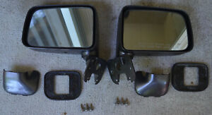 Rare Toyota Truck 4runner Delux Post Mirrors Oem Parts Matched Pair 1989 95