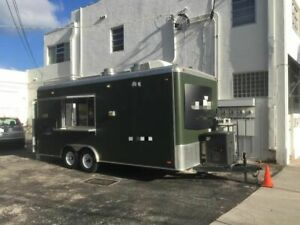 Ready For Business 2014 Fully Loaded Mobile Kitchen Food Concession Trailer For