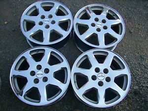 Deville Cts Sts Eldorado Seville Oem 17 X 7 5 Chrome 7 Spoke Wheels Rims Set