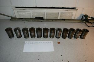 Hardinge 2j Collets Collet Lot Of 12