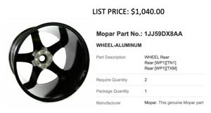 Genuine Dodge Viper Aluminum Rear Wheel 1jj59dx8aa Can Be Shipped 2 Available