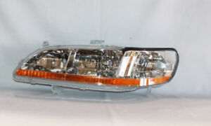 Headlight Fits 1998 2000 Honda Accord Tyc