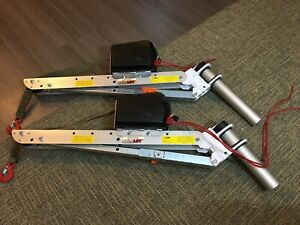 2 Spitzlift Fold Down Kuv Cranes No Electric Cables Included 550 Each