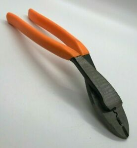 Blue Point By Snap On Tools Large 10 Wire Cutter Pliers Terminal Crimping Bent