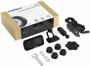 New Cacagoo Wireless Tpms Tire Pressure Monitoring System W 4 External Sensors