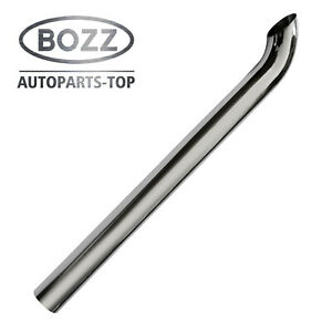 Bozz Stack Pipe 4 X60 Od Chrome Curved