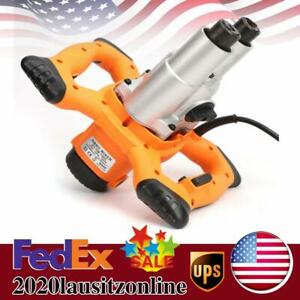 1600w Mixer Stirring Tool Cement Plaster Grout Paint Thinset Mortar 2 Speed