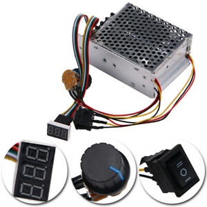 Dc 10 55v 60a Reversible Dc Motor Speed Controller Pwm Control Soft Start Switch
