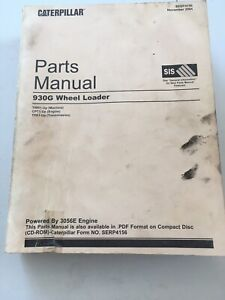 Cat Caterpillar 930g Wheel Loader Parts Manual