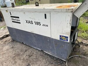 Atlas Copco 185 Cfm Towable Air Compressor