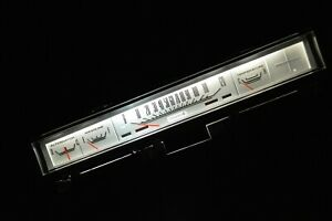 1968 69 70 Plymouth Road Runner Dash Cluster Gauges Coronet White