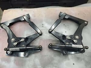 1965 66 Ford Mustang Mustangs To Fear Billet Aluminum Black Anodized Hood Hinge