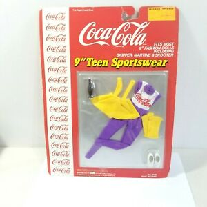 SEALED COCA-COLA DOLL TEEN FASHION CLOTHING MOST 9
