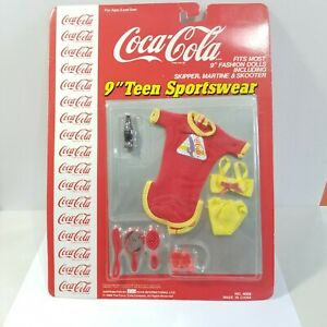 COCA-COLA DOLL FASHION CLOTHING FOR MOST 9