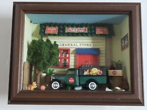 Coca Cola Shadowbox 1998 Vintage Limited Edition #12/100 Excellent Condition