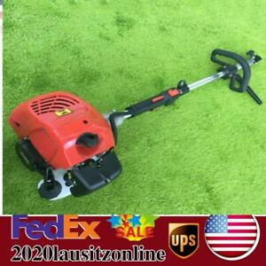 1700w Gas Power Hand Held Cleaning Sweeper Broom Driveway Turf Artificial Grass